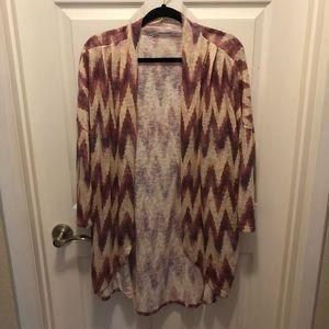 3/4 sleeve length cardigan